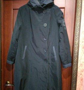Пальто женское на тонком синтепоне