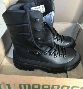 Зимние ботинки со шнуровкой, берцы