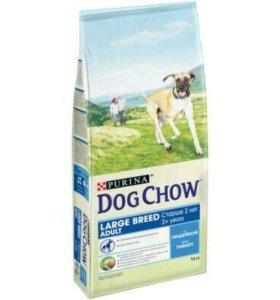 Корм для собак Dog Chow с индейкой