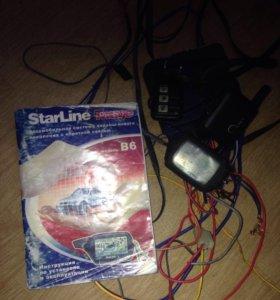 Автосигнализация Starline B6, обмен