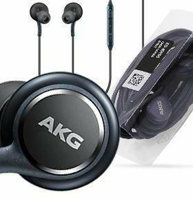 Черные наушники Akg samsung