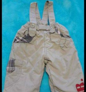 Утепленные синтепоном новые штанишки