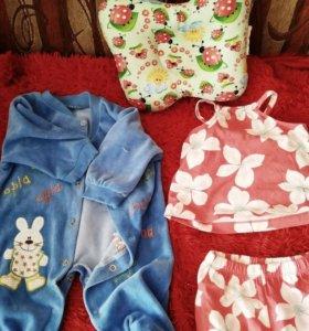 Большой набор для малышки 0-3 месяца