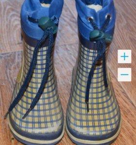 Резиновые сапожки Капика 21 размер