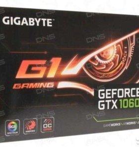 Видеокарта gigabyte GeForce GTX 1060 G1 gaming 3gb