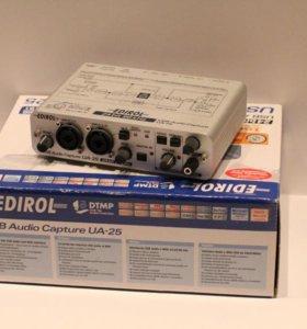 Продам внешнюю звуковую карту Edirol UA25. Новая.