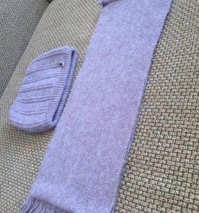 Комплект: шапочка и шарф-снуд