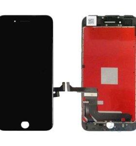 Дисплей iPhone 7 Plus в сборе (черный)