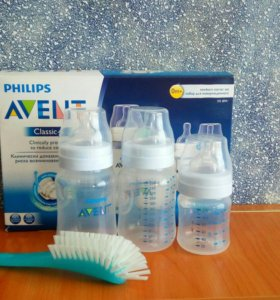 Набор бутылочек для новорожденных Avent