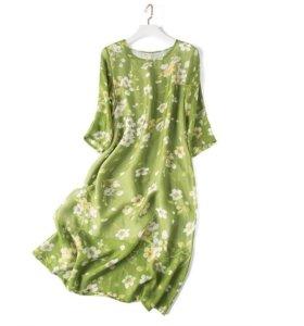 Платье из шёлка. Р-р 44-46