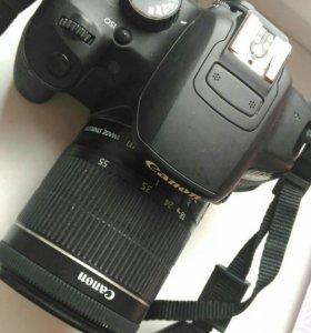 Canon 650d+пульт+сумка