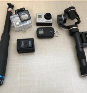 GoPro 3 black edition + аксессуары