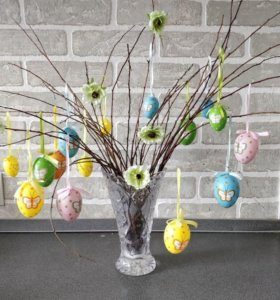 Яйца пасхальные декоративные