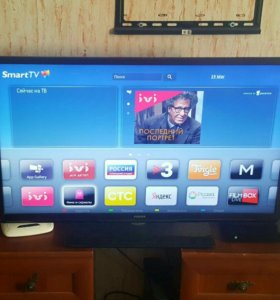 LED Телевизор Philips 400hz Smart TV WiFi 40""