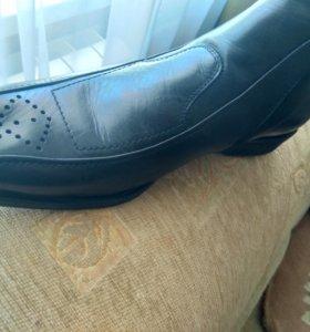 Ботинки (кожа)новые