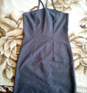 Коктейльное платье - сарафан