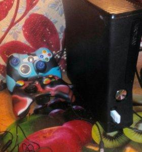 Xbox360s 250gb+64gb