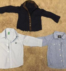 Рубашки Benetton ,H & M,Paul Smid