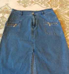 Юбка джинсовая новая LAFEI-NIE