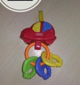 Музыкальная машинка с ключиками-прорезывателями
