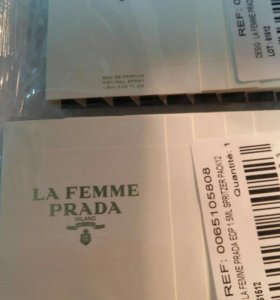 Prada la femme прада семплы 1.5 мл