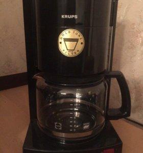 Кофеварка и машина для чистого кофе Krupsкофемолка