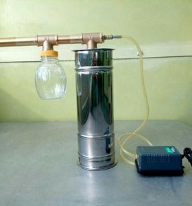 Дымогенератор для квартиры или электростатики