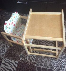 Детский стульчик/стол