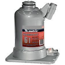 """Домкрат гидрав бутыл, (6т, h-171/453мм) """"MATRIX"""