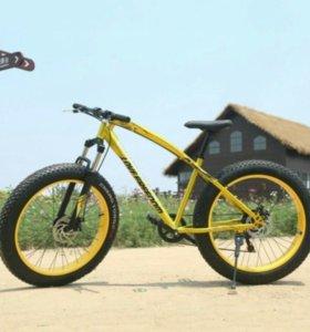 Велосипеды фэтбайк
