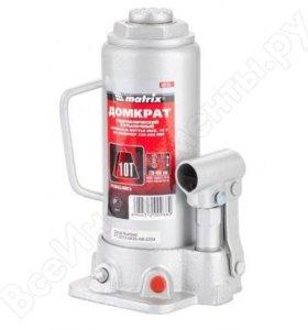 Домкрат гидр бутыл, (10т, h-230/460мм)MATRIX 20736