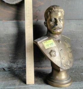 Сталин 1946, бронза, скульптор Аникин,редкость