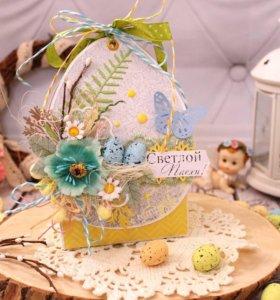 Коробочка под Пасхальные яйца
