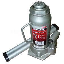 Домкрат гидр бутыл (12т, h-230/465мм)MATRIX 21293