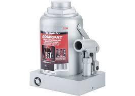 Домкрат гидр бутыл(25т, h-240/375мм)MATRIX 20735