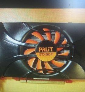 1 Гб GeForce 560Ti Palit