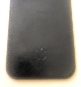 Чехол для IPhone 6,6s,7,8 plus кожаный