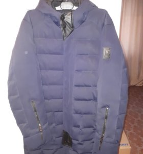 Демисезонное мужское пальто.