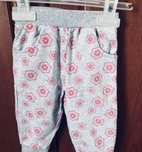 Лёгкие штанишки на девочку