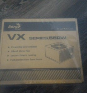 Блок питания aerocool vx 550w
