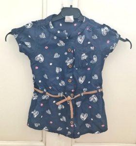 Рубашка для девочки Hema