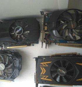 Видеокарты Nvidia GeForce GTX 650 много в наличии