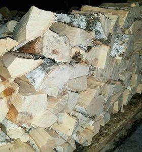 Колотые дрова 45 см