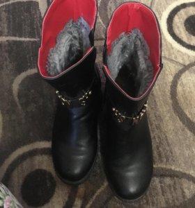 Весенние ботинки