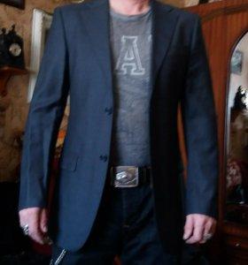 Пиджак тёмно-серый
