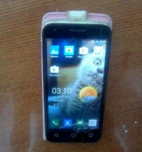 Телефон ALCATEL one touch pixi3 + LG