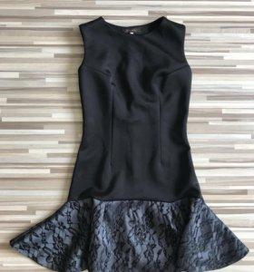 Платье из тонкого неопрена