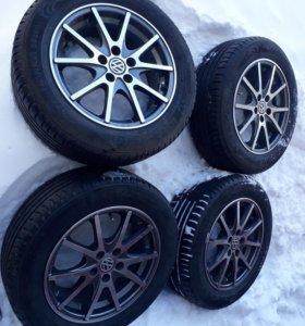 комплект колес для VW POLO, Rapid.