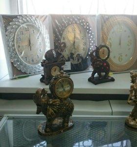 Часы для украшения интерьера