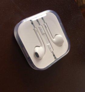 Наушники для iPhone оригинальные новые